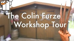 Colin Furze Workshop/Tools Tour & Wolverine Claws