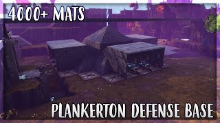 My Best Plankerton Defense Base - Fortnite Save the World