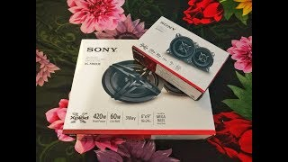 Sony XS-FB693E 3-Way Coaxial Car Speakers & Sony XS-FB102E Mega Bass 4-inch Speakers Unboxing