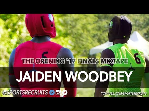 Jaiden Woodbey Ultimate Highlights: The Opening Finals 2017 (Nike Campus, Oregon) Ohio State Commit