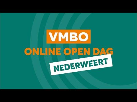 Nederweert VMBO Online Open Dag