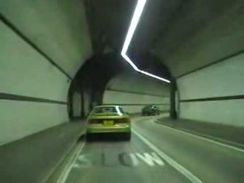 A Drive Through Rotherhithe Tunnel London