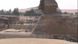 Giza pyramid & Sphinx-Giza piramitleri ve Sfenks