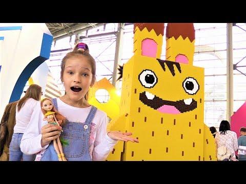 Видео про игрушки и Фестиваль Мультимир! Герои из любимых мультфильмов