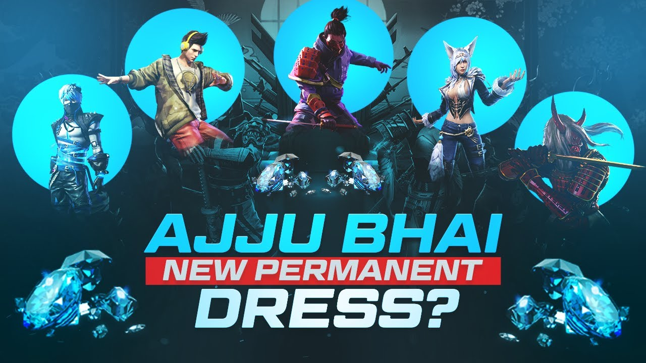 AJJUBHAI Making New Permanent Dress for Free Fire Gameplay