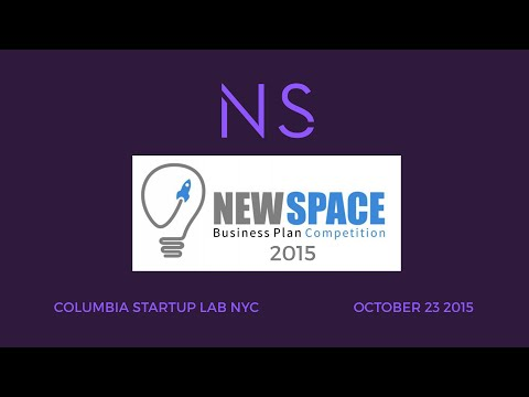 Space Frontier Foundation's NewSpace Business Plan Competition 2015