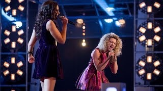 Kelsey-Beth Vs Emily Adams: Battle Performance - The Voice UK 2014 - BBC One