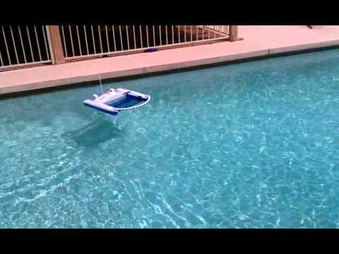Solar Breeze Floating Pool Skimmer Robot From Solar Breeze
