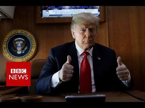 Brett Kavanaugh wins Supreme Court nomination - BBC News