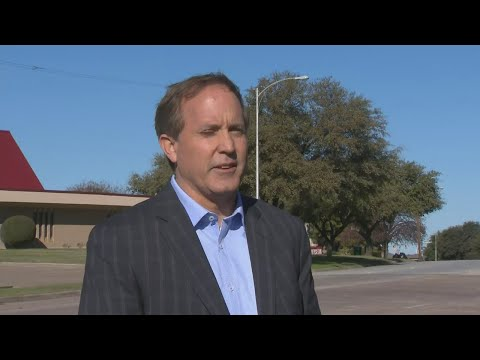 Texas Attorney General Ken Paxton Gives Statement On White Settlement Church Shooting