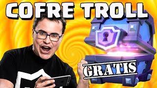 INVITA JONAS. Cofre Supermágico Gratis   El Cofre Troll   Clash Royale con TheAlvaro845   Español