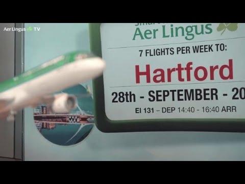Aer Lingus Hartford Connecticut route launch interview Declan Kearney - TravelMedia.ie