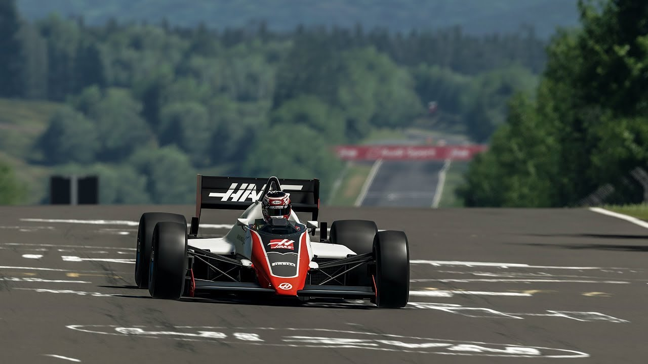 F1 Car Record Time On Nurburgring Nordschleife