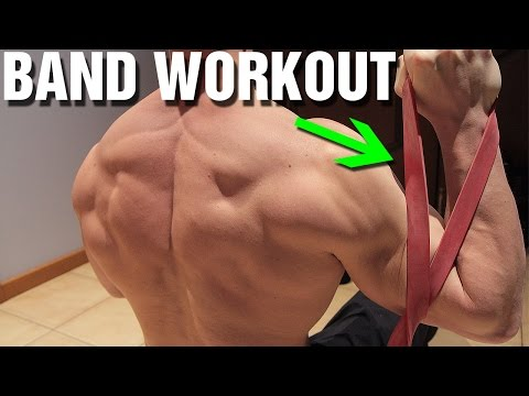 Resistance Band Workout (Upper Body)