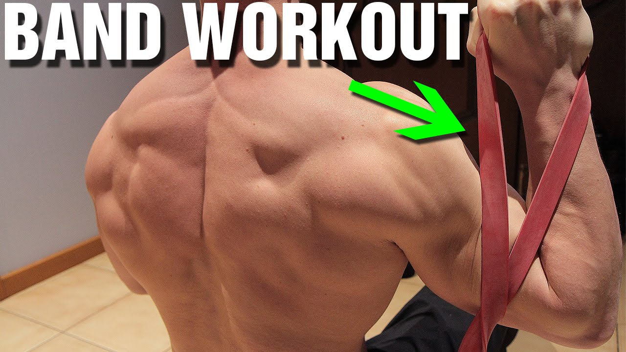 Resistance Band Workout Upper Body Youtube
