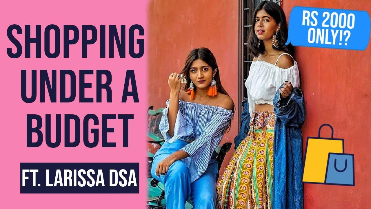 Rs 2000 Shopping Challenge In SAROJINI NAGAR ft Larissa Dsa | STYLE SWAP | Sejal Kumar
