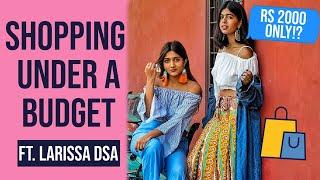 Rs 2000 Shopping Challenge In SAROJINI NAGAR ft Larissa Dsa   STYLE SWAP   Sejal Kumar thumbnail
