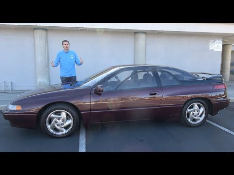 The Subaru SVX Is the Weirdest Subaru Ever