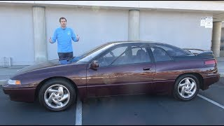 The Subaru SVX Is the Weirdest Subaru Ever thumbnail