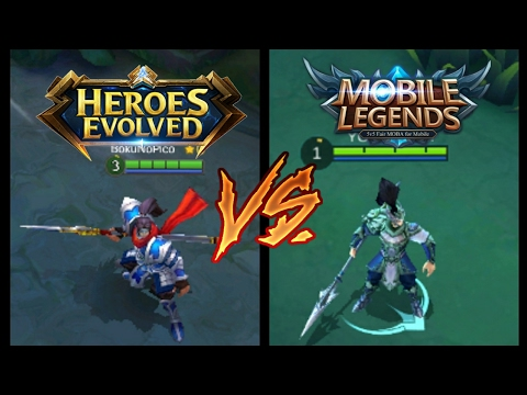 HEROES EVOLVED VS MOBILE LEGENDS|MUST WATCH THIS !!!