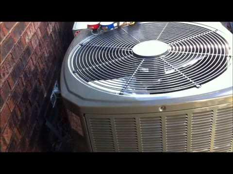 HVAC Install: 2.5 Ton Trane XR 15 System