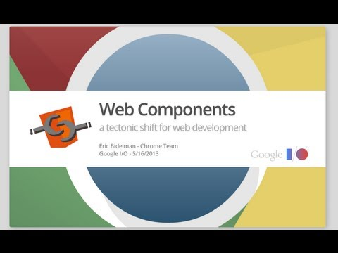 Web Components: A Tectonic Shift for Web Development - Googl