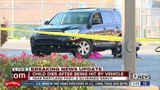 Boy riding bike killed after being hit by SUV