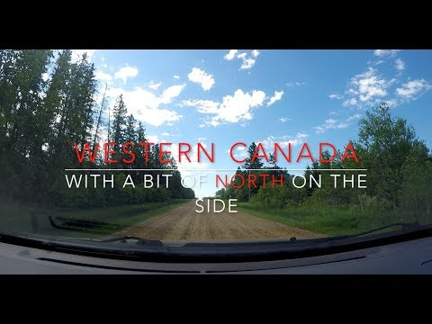Western Canada With a Bit of North on the Side