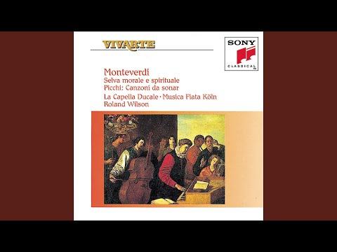 Laudate pueri dominum, primo (psalm 112) a 5 voci concertato con due violini mp3