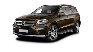 Замена лобового стекла на Mercedes-Benz GL в Казани.