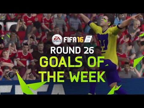 FIFA 16 - Best Goals of the Week - Round 26