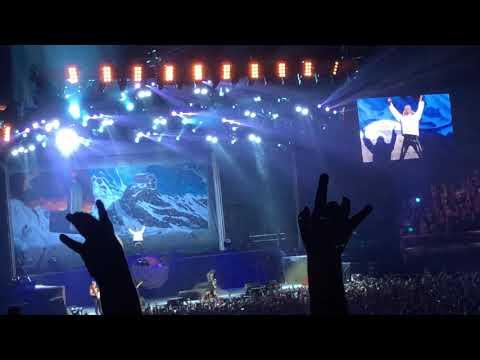 Iron Maiden O2 Arena London 10/08/2018 Legacy Of The Beast Tour. Full