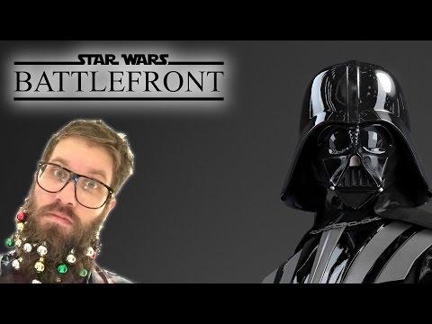 Star Wars Battlefront Gameplay - Darth Vader & Luke Skywalker