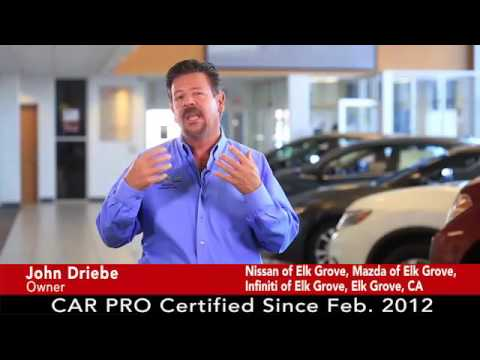 Nissan Elk Grove >> Car Pro Testimonial John Driebe Nissan Mazda Infiniti Of Elk Grove 10 16