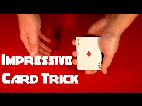 Impress Anyone With This Card Trick!