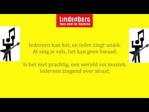 Een wereld vol muziek | Lindenberg Slotlied Muziek Pakket 1 en 2 2014