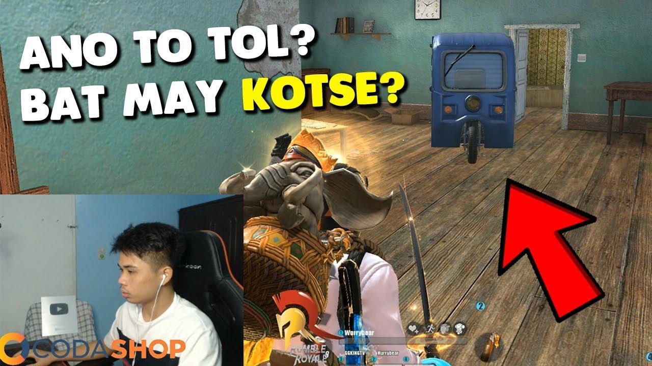 MAY KOTSE SA LOOB NG BAHAY?   [TAGALOG](Rules of Survival: Battle Royale)