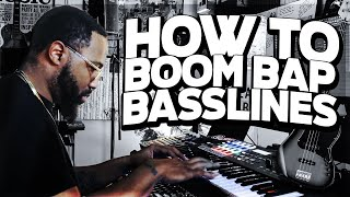 how to make boom bap basslines | (making a boom bap beat fl studio)