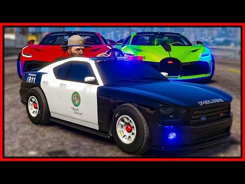GTA 5 Roleplay - TOY COP CAR TROLLING COPS | RedlineRP