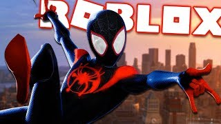 BECOME THE NEW SPIDER-MAN: INTO THE SPIDER-VERSE | Roblox - Spider-Man Multiverse Roleplay