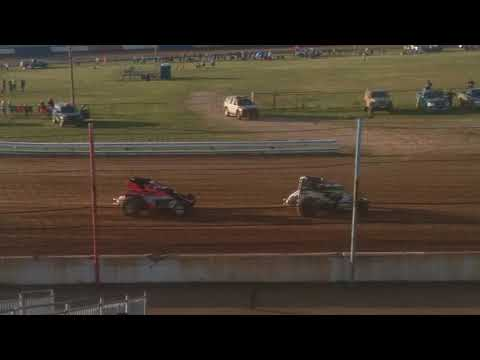 USAC Sprint Cars Heat 1 Terre Haute Action Track 5/23/18