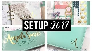 SETUP 2017 CARPE DIEM ITA | ANGELA SMILE collab. LA BETTY PLANNER