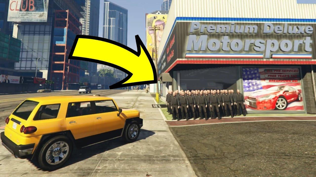 Where S The Car Dealership Gta