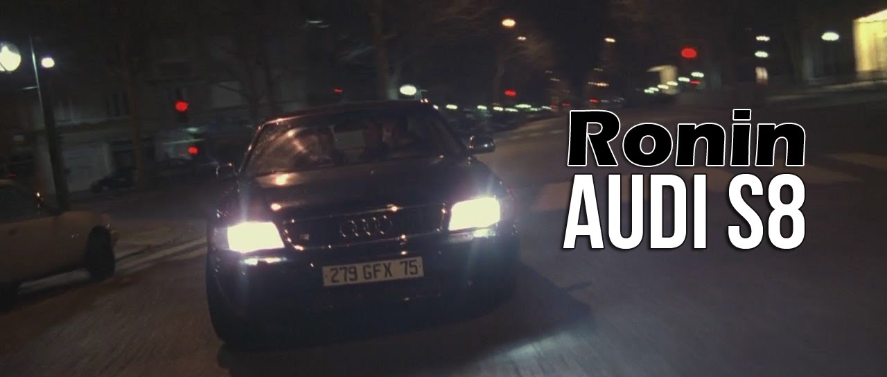 Cars In Movies Audi S8 From Ronin 1998 Youtube