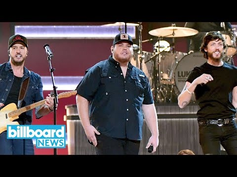 Luke Combs Gives Emotional