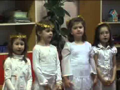 Tulipán csoport karácsonyi előadása