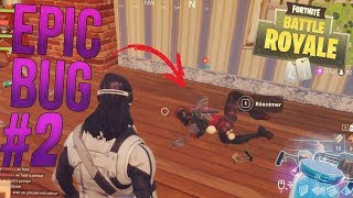 EPIC BUG ON FORTNITE BEST MOMENTS #2 - Fortnight