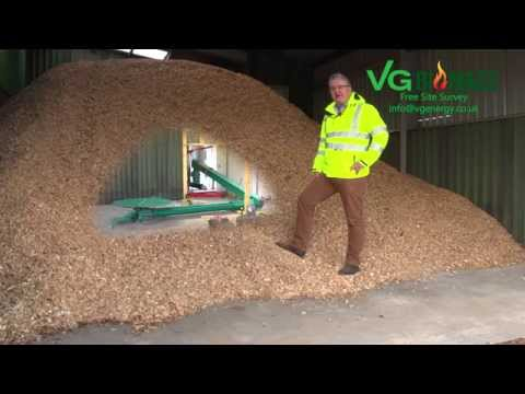 VG Biomass Heating System Installation Walkround