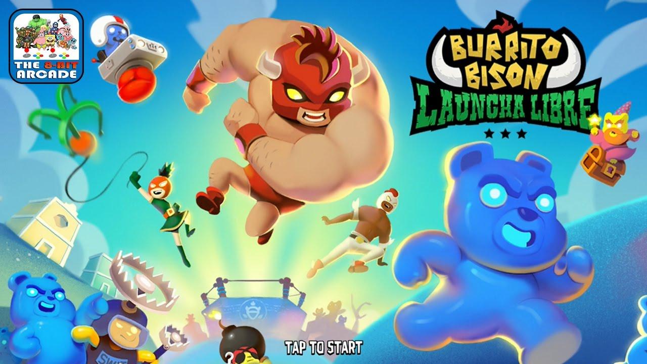 Download Burrito Bison: Launcha Libre - Beaster Bunny Just Wants To Flex (iOS/iPad Gameplay)