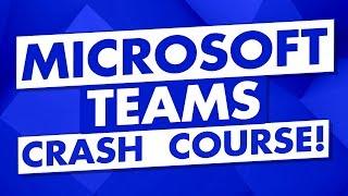Microsoft Teams Tutorial f๐r Beginners: Microsoft Teams Demo - Teams Crash Course